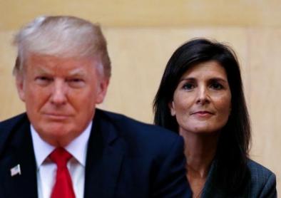 Trump and Nikki