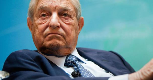 George Soros angry