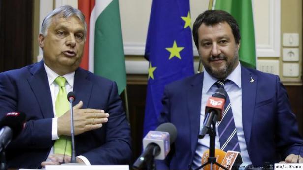 Salvini and Orban